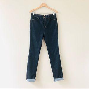 J Brand Bardot High Rise Pencil Leg Jeans Indigo